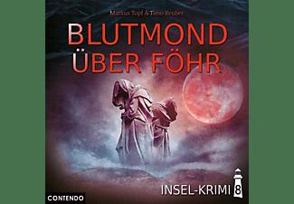 Insel-krimi - Insel-Krimi 08-Blutmond Über Föhr  - (CD)