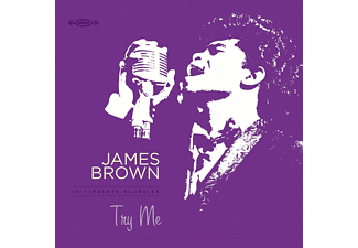 James Brown - Try Me-LP+CD/Coloured/HQ-  - (Vinyl)