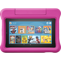 AMAZON Fire 7 Kids Edition, Tablet , 16 GB, 7 Zoll, Schwarz/Pink