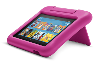 AMAZON Fire 7 Kids Edition, Tablet, 16 GB, 7 Zoll, Schwarz/Pink