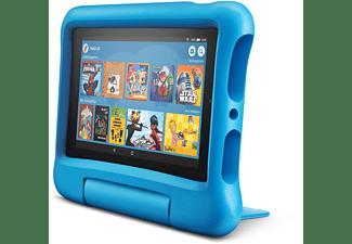 AMAZON Fire 7 Kids Edition, Tablet, 16 GB, 7 Zoll, Schwarz/Blau