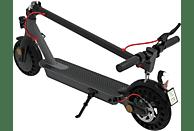 TECHNOSTAR TES 200 E-RICH E-Scooter (8.5 Zoll, Schwarz/Gunmetal/Rot)