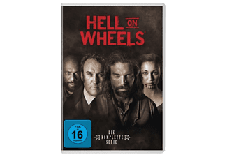 Hell On Wheels-Staffel 1-5 DVD