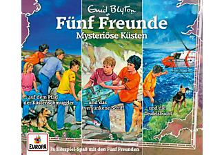 Fünf Freunde - 034/3er-Box-Mysteriöse Küsten  - (CD)