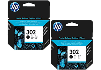 HP 302 Duo Pack Noir (BUNDLE-HP302X2)