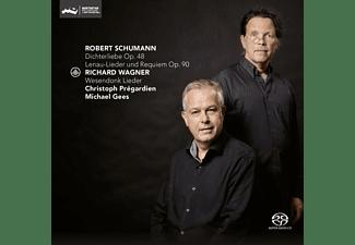 Michael Gees Christoph Pregardien - Dichterliebe op.48 & Lenau-Lieder Und Requiem Op.  - (SACD Hybrid)