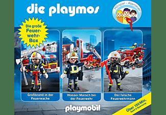 Die Playmos - Die Große Feuerwehr-Box  - (CD)
