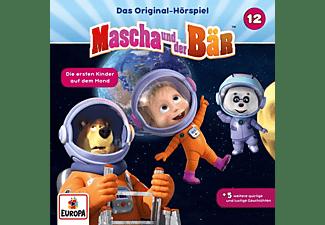 Mascha Und Der Bär - 012/Die ersten Kinder auf dem Mond  - (CD)