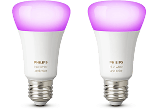 PHILIPS HUE Bluetooth - White and color ambiance - E27 - 2-pack