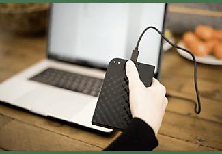 VERBATIM Fingerprint Secure, 1 TB HDD, 2,5 Zoll, extern, Schwarz