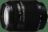 SONY 18 mm-250 mm f/3.5-6.3 IF, DT, Circulare Blende (Objektiv für Sony A-Mount, Schwarz)
