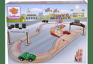 EICHHORN Porsche Racing Set, 31-tlg. Autorennbahn Mehrfarbig
