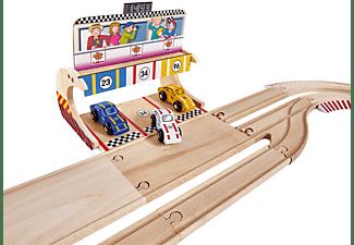 EICHHORN Porsche Racing Set groß Autorennbahn Mehrfarbig