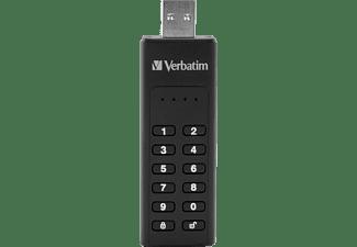 VERBATIM Keypad Secure USB-Stick (Schwarz, 32 GB)