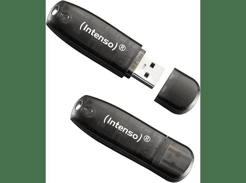 INTENSO Rainbow USB-Stick Schwarz, 16 GB
