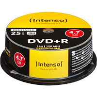 INTENSO 4811154 DVD+R Rohlinge Printable
