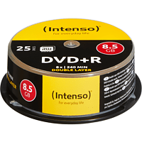INTENSO 4311144 DVD+R Double Layer Rohlinge