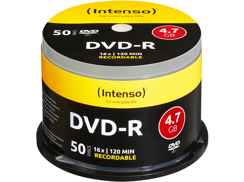 INTENSO 4101155 DVD-R Rohlinge