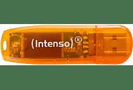 INTENSO Rainbow Line USB-Stick, Orange