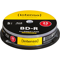 INTENSO 5001111 BD-R Blu-Ray-Disc Rohlinge