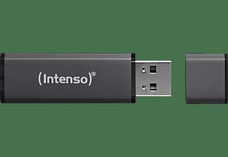 INTENSO Alu Line USB-Stick, 64 GB, 28 MB/s, Anthrazit