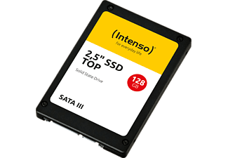 INTENSO Top Performance Festplatte, 128 GB SSD SATA 6 Gbps, 2,5 Zoll, intern