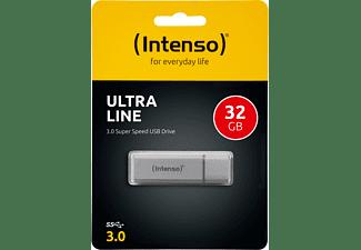 INTENSO Ultra Line USB-Stick, 32 GB, 35 MB/s, Silber