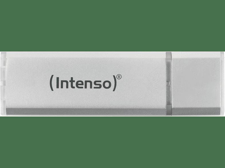 INTENSO Alu Line USB-Stick, Silber, 16 GB