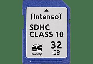 INTENSO 3411480, SDHC Speicherkarte, 32 GB, 20 MB/s