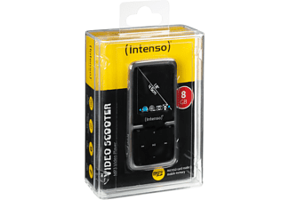 INTENSO 3717460 Video Scooter Audio/Video Player 8 GB, Schwarz