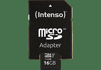 INTENSO 3423470 MicroSDHC Klasse 10 UHS-1, 16 GB