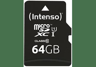 INTENSO 3423490 MicroSDXC UHS-1 Klasse 10, 64 GB