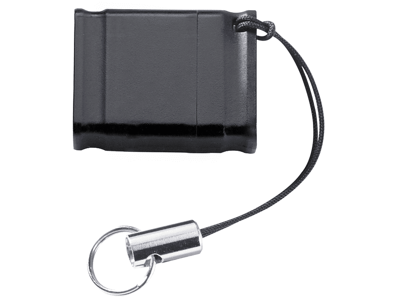 INTENSO Slim Line USB-Stick, 16 GB, 35 MB s, Schwarz