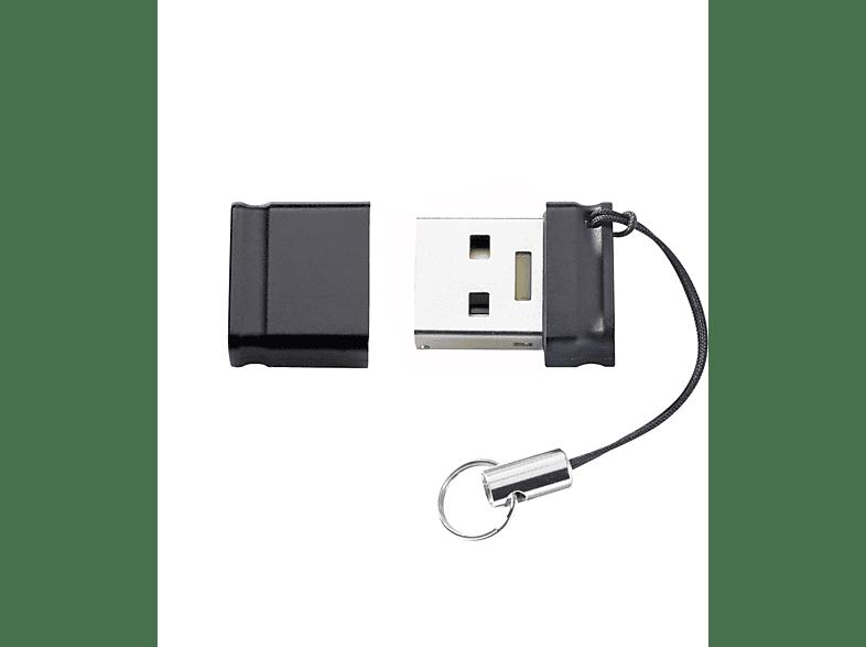 INTENSO Slim Line USB-Stick, 64 GB, 35 MB s, Schwarz