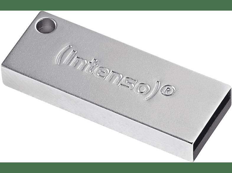 INTENSO Premium Line USB-Stick, 8 GB, 35 MB s, Silber