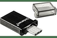 INTENSO Mini Mobile Line USB-Stick, Schwarz, 16 GB