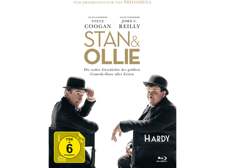 Stan & Ollie-3-Disc Limited [Blu-ray + DVD]
