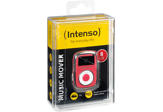 INTENSO Music Mover Mp3-Player (8 GB, Pink)
