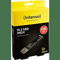 INTENSO m.2 SSD SATA III High, 240 GB SSD, intern