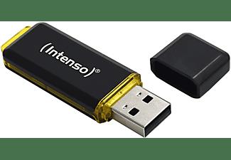 INTENSO 3.1 HIGH SPEED USB-Stick, 64 GB, 250 MB/s, Schwarz/Gelb