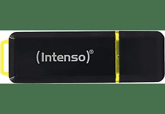 INTENSO 3.1 HIGH SPEED USB-Stick, 128 GB, 250 MB/s, Schwarz/Gelb