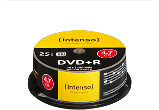 INTENSO 4111154, DVD+R Rohlinge