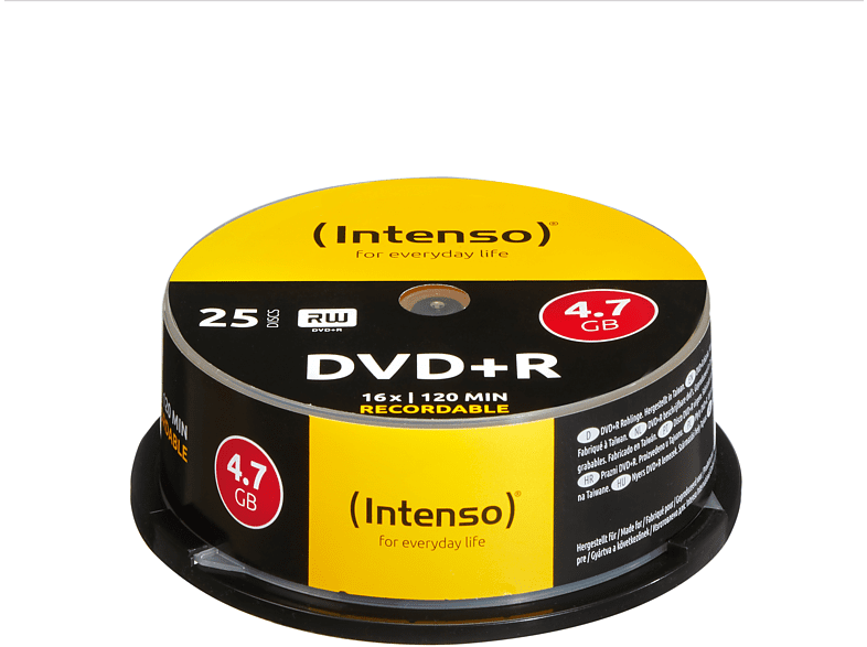 INTENSO 4111154 DVD+R Rohlinge