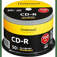 INTENSO 1001125 CD-R 80 50ER SPINDEL CD-R