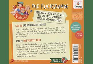 Die Fuchsbande - 012/Fall 23: Das räuberische Treffen/Fall 24: Da  - (CD)
