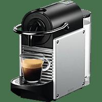 DELONGHI EN124S Nespresso Pixie Kapselmaschine, Silber