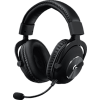 LOGITECH G PRO X, Over-ear Gaming Headset Schwarz