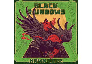 Black Rainbows - HAWKDOPE (GREEN FLUO)  - (Vinyl)
