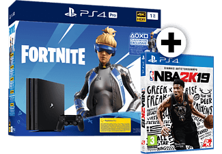 SONY PS4 PRO 1TB G CH FORTNITE 2019 μαζί με NBA 2K19 Standard Edition