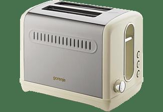 GORENJE 2-Schlitz-Toaster Creme T1100CLI